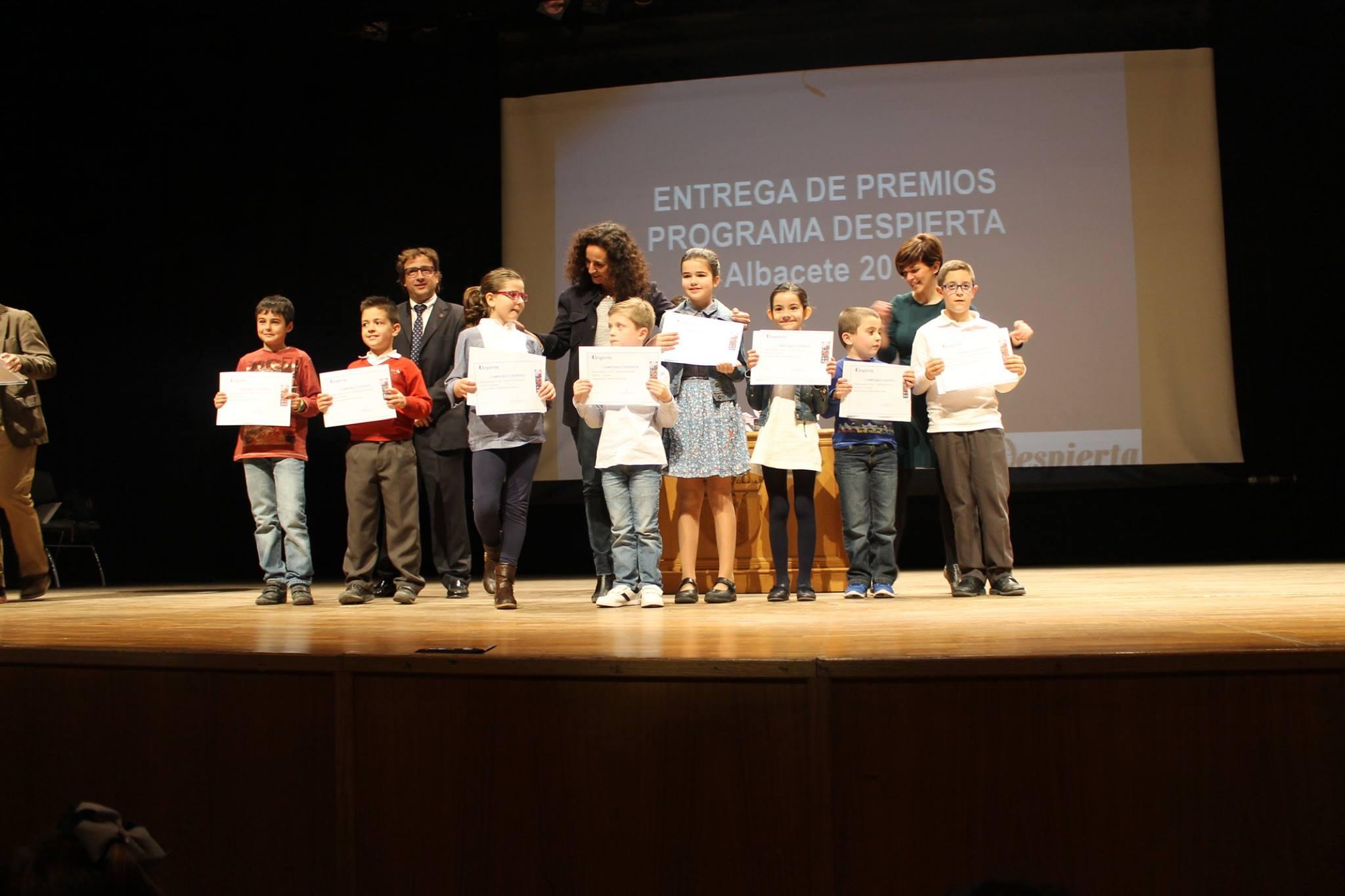Entrega de Premios del campeonato Despierta en Albacete