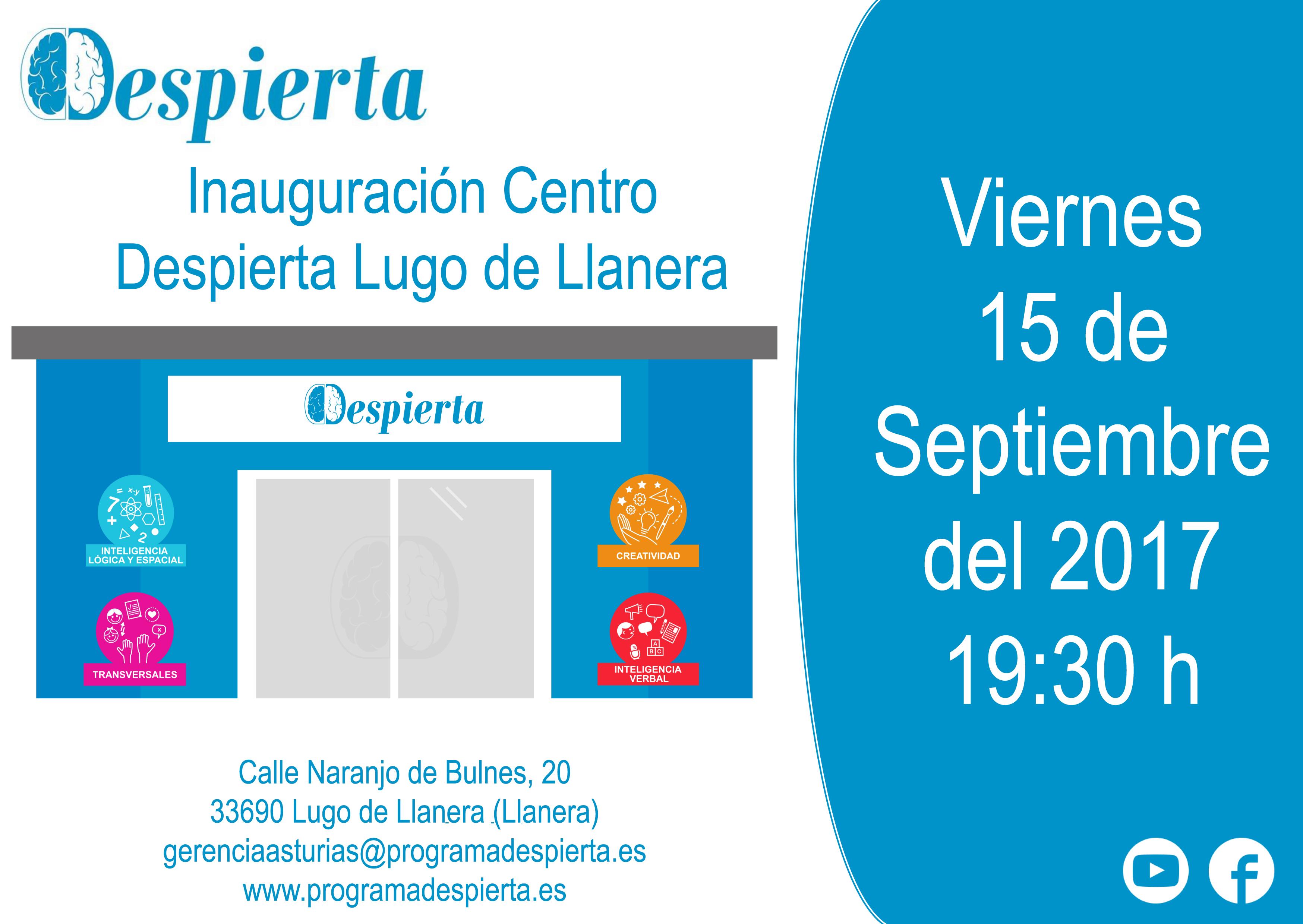 Centro Despierta en Lugo de Llanera (Llanera)