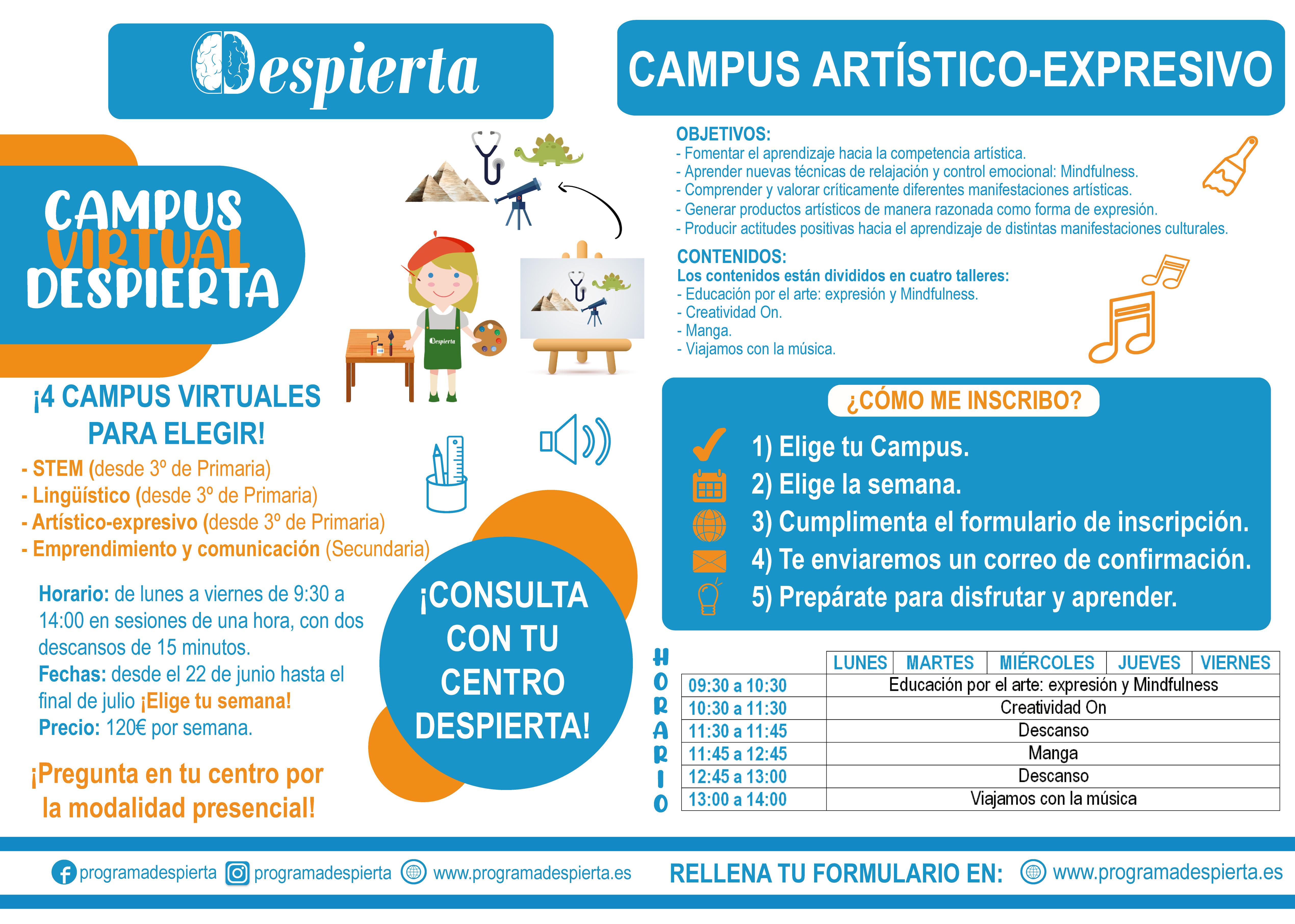 campus virtual artístico