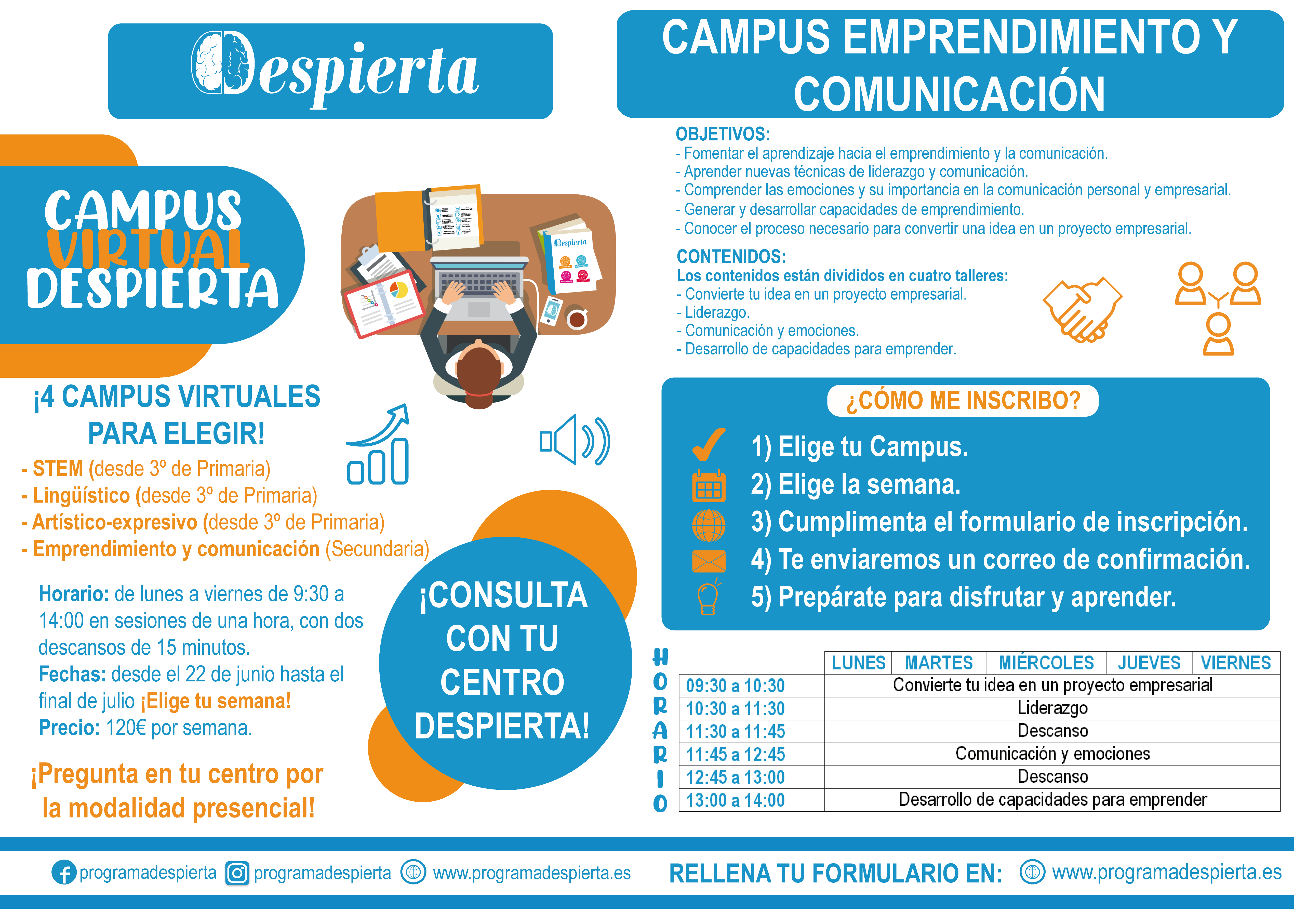 campus virtual emprendimiento