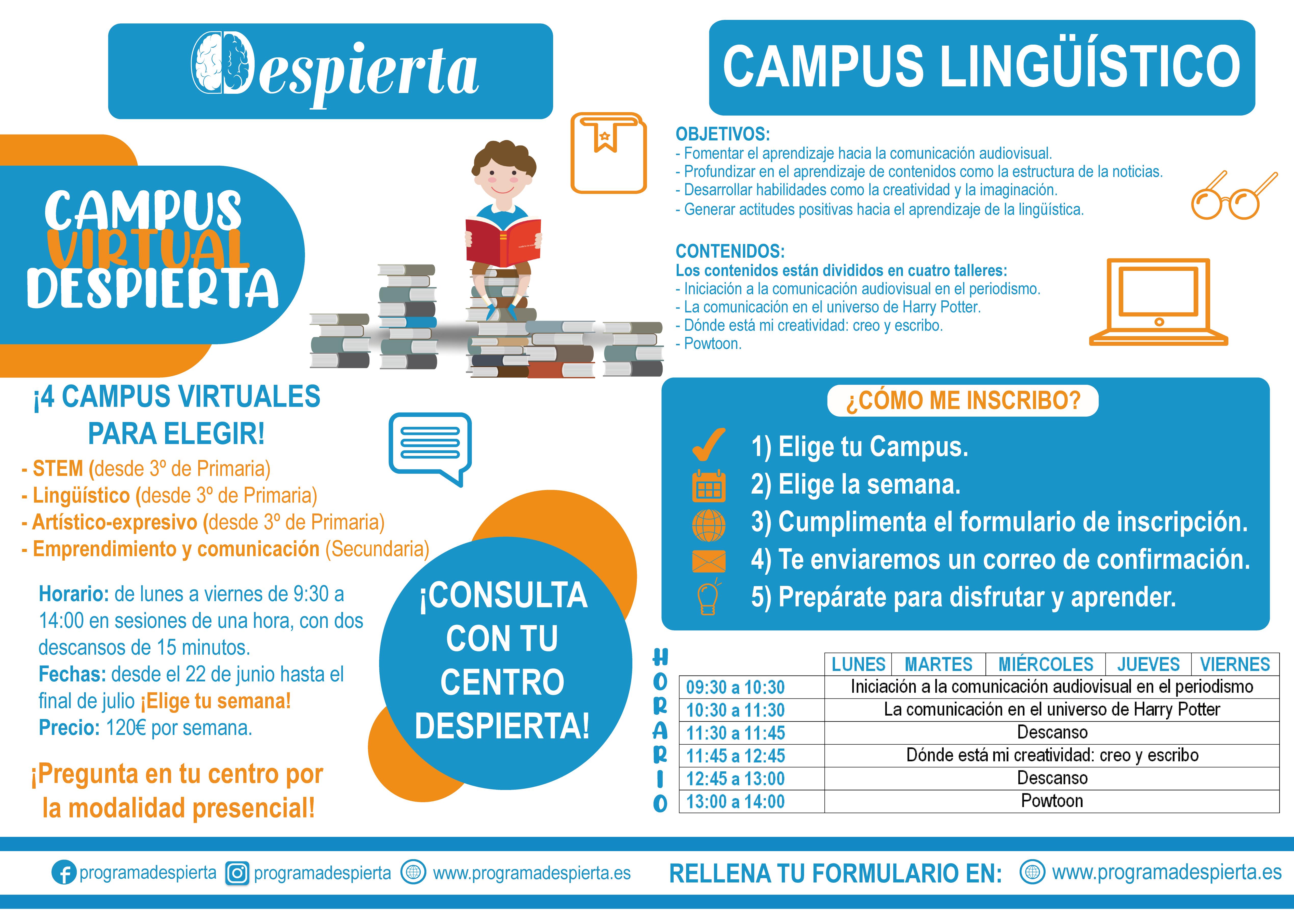 campus virtual lingüístico