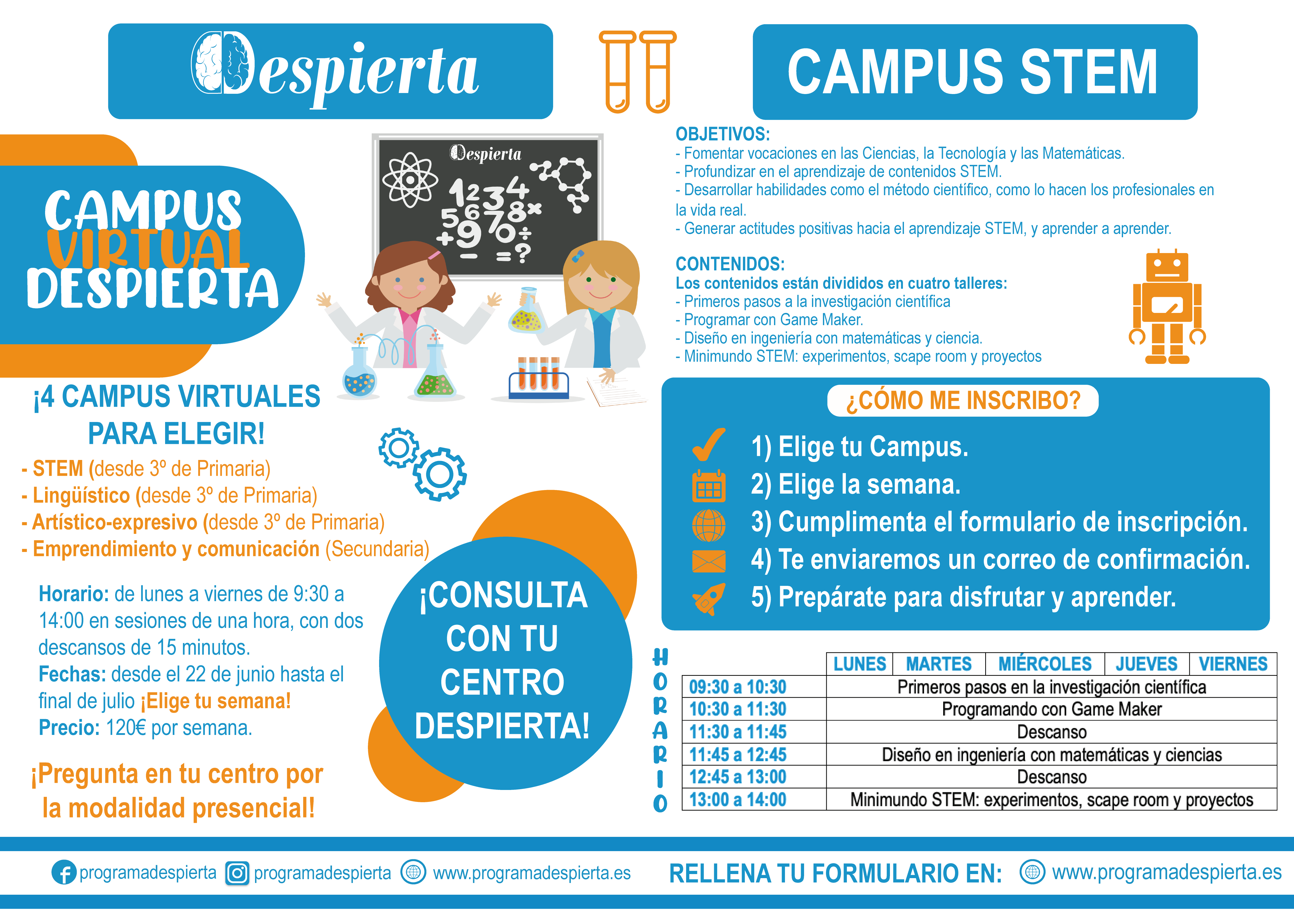 Campus Virtual STEM