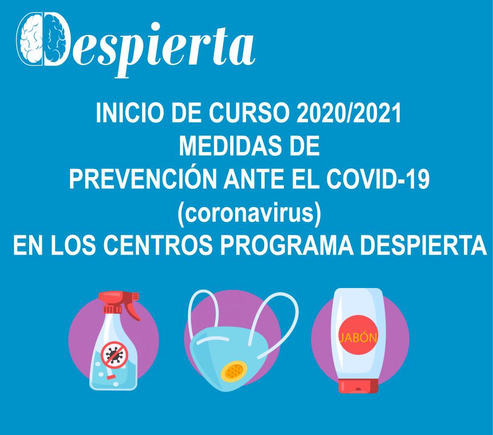 MEDIDAS COVID-19 DESPIERTA